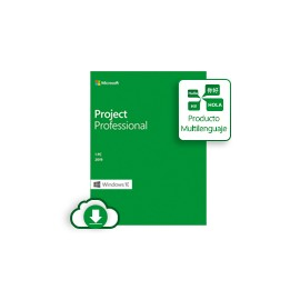 Microsoft ESD Project Professional 2019 Win All Languages