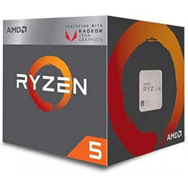 AMD Ryzen™ 5 3400G with Radeon™ RX Vega 11 Graphics.
