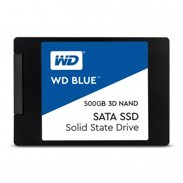 "WD BLUE 3D NAND 500GB PC SSD - SATA III 6 GB/S 2.5""/7MM SOLID STATE DRIVE"