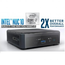 Mini PC Intel NUC 10 - Intel Core i7-10710U - DDR4 - SATA - HDMI - USB - Sin Sistema