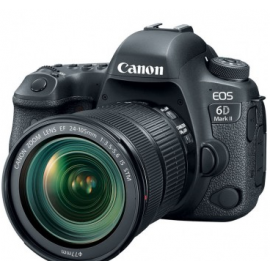 Canon Camara EOS 6D Mark II Kit 24-105 mm