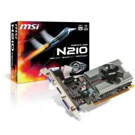 Tarjeta de Video MSI GeForce® N210-MD1G/D3
