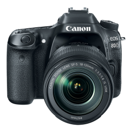 Canon Camara EOS Rebel 80D(W)18-135 IS STM KIT
